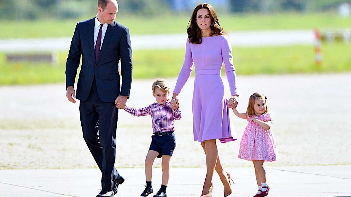 Księżna Kate, książę William, dzieci