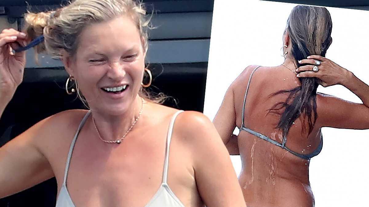 Kate Moss w bikini