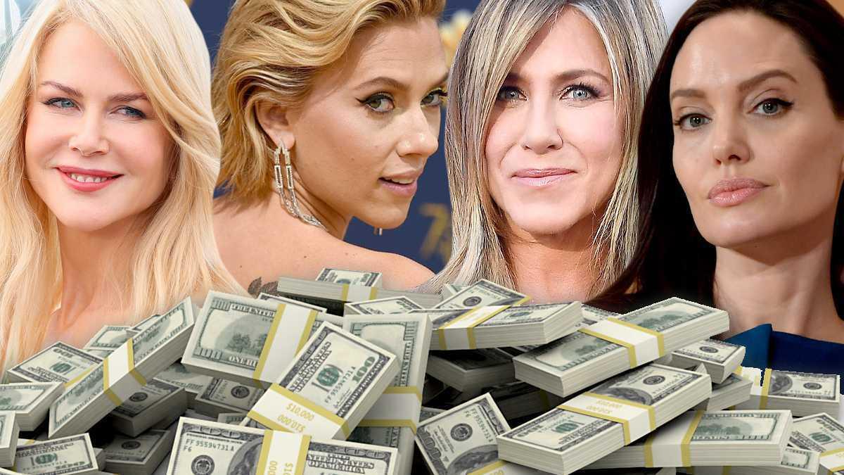 Najlepiej zarabiające aktorki w Hollywood