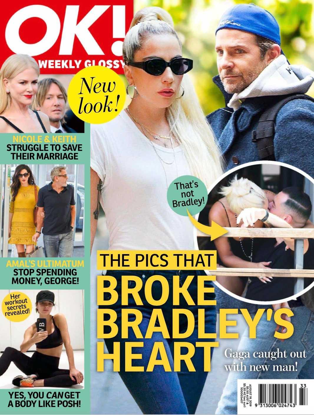 Bradley Cooper i Lady Gaga na okładce OK!