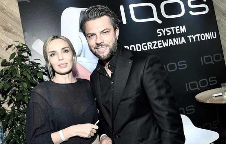 Agnieszka Włodarczyk i Olivier Janiak -IQOS