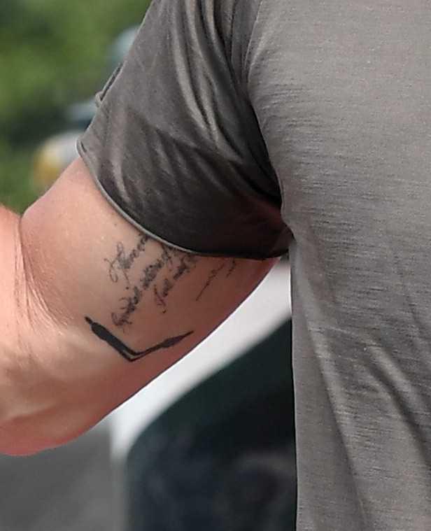 Brad Pitt ma nowy tatuaż