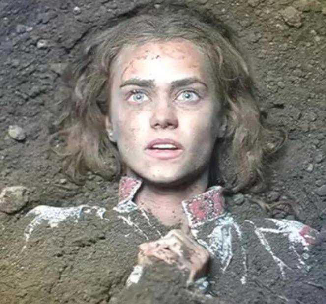 Zniewolona. Katerina Kowalczuk została zakopana żywcem na planie serialu