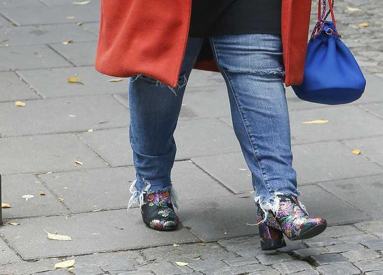 Dominika Gwit - buty i spodnie