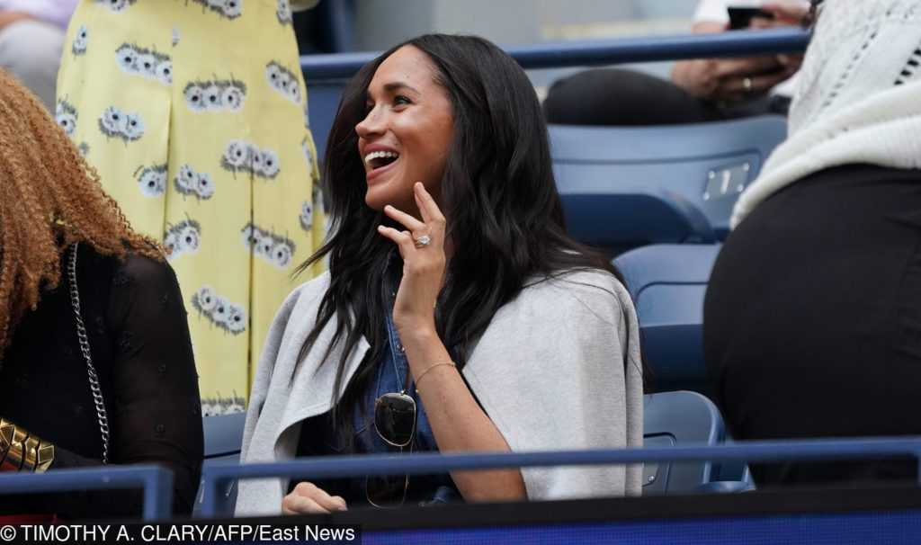 Meghan Markle na US Open 2019