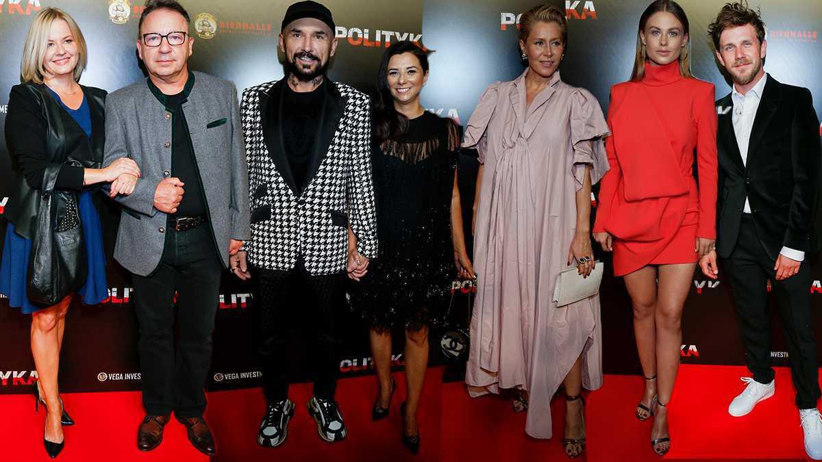 Gwiazdy na premierze Poltyki