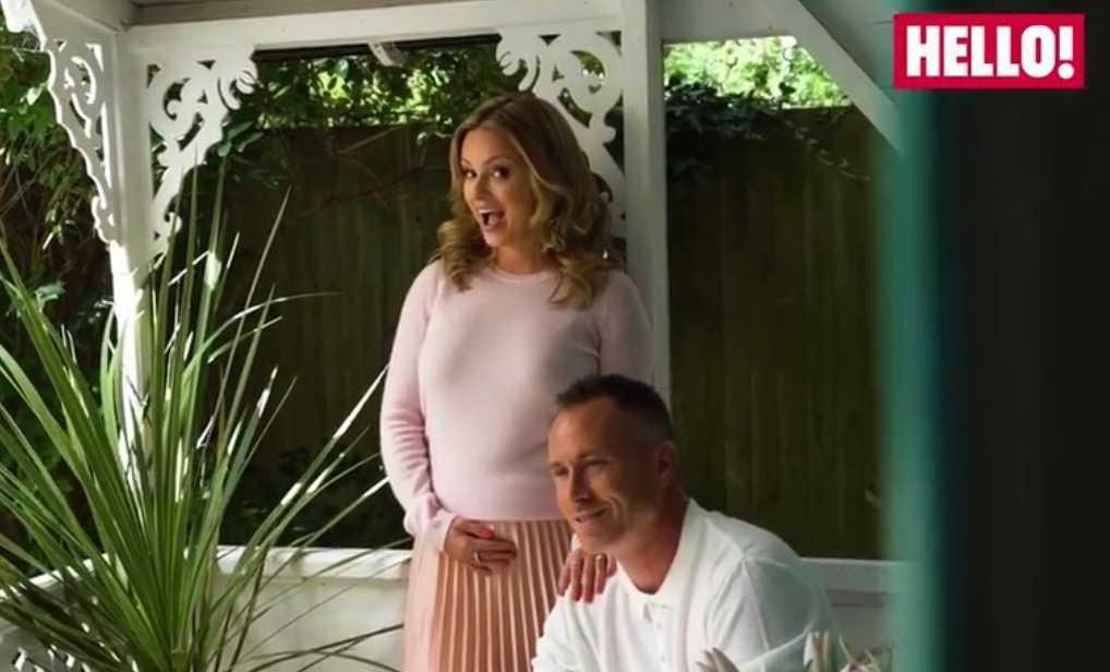 James Jordan i Ola Jordan w ciąży w sesji dla Hello!