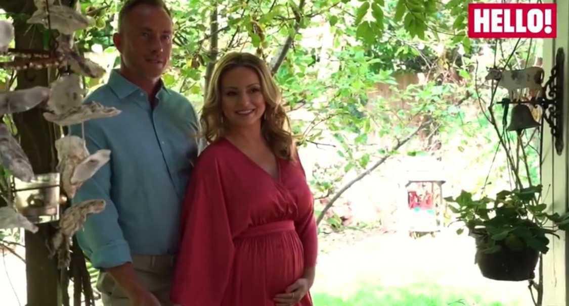 Ola Jordan w ciąży w sesji dla Hello!