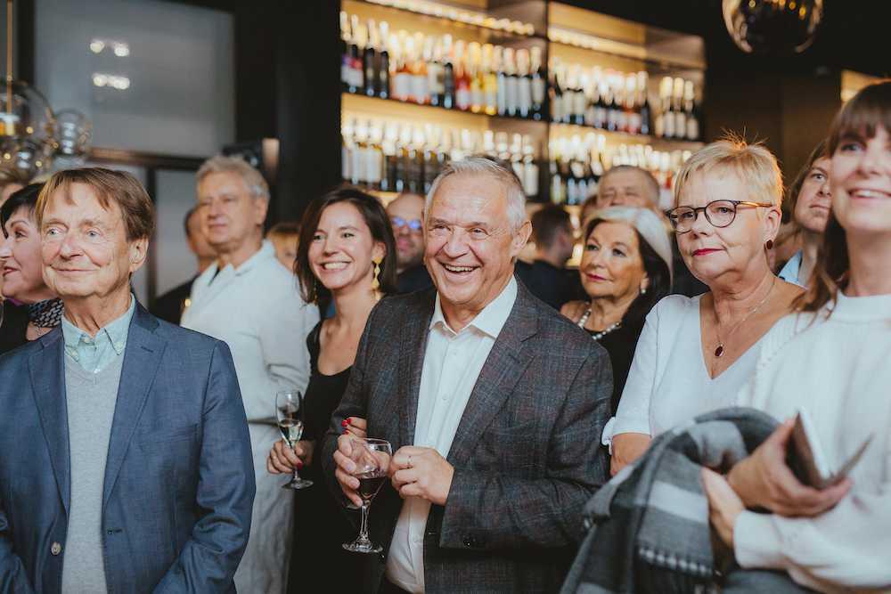 Marek Kondrat i Antonina Turnau na otwarciu BARaWINO w Warszawie