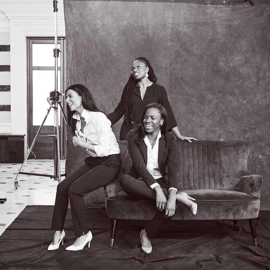 Meghan Markle - stworzyła kolekcję ubrań, zdjęcia z kulis sesji zdjęciowej