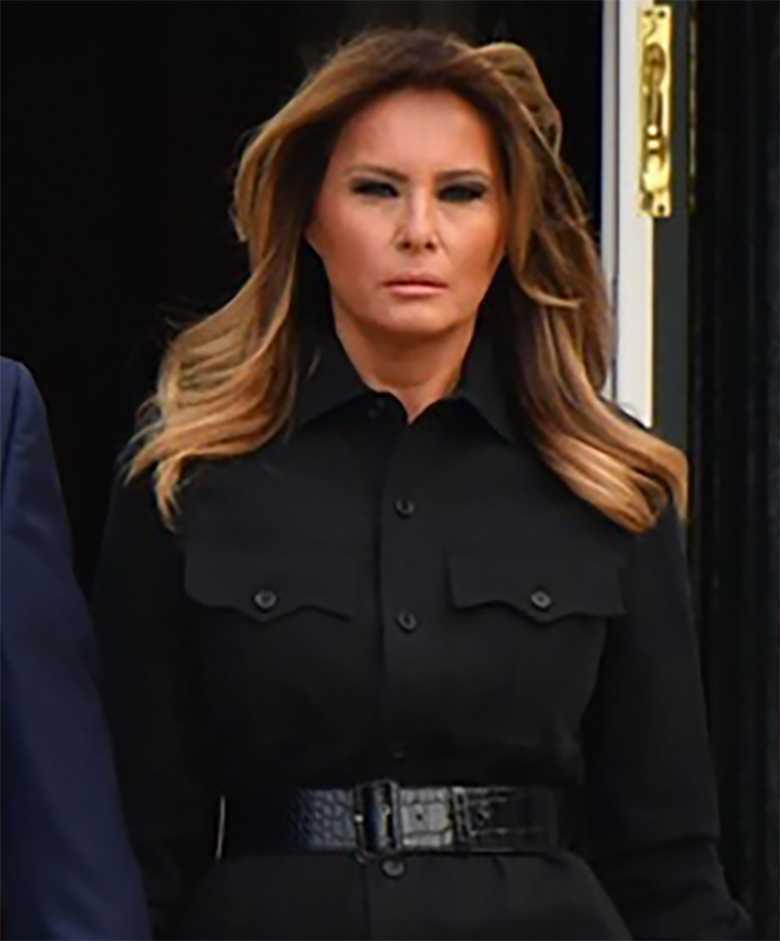 Melania Trump 11 września - makijaż