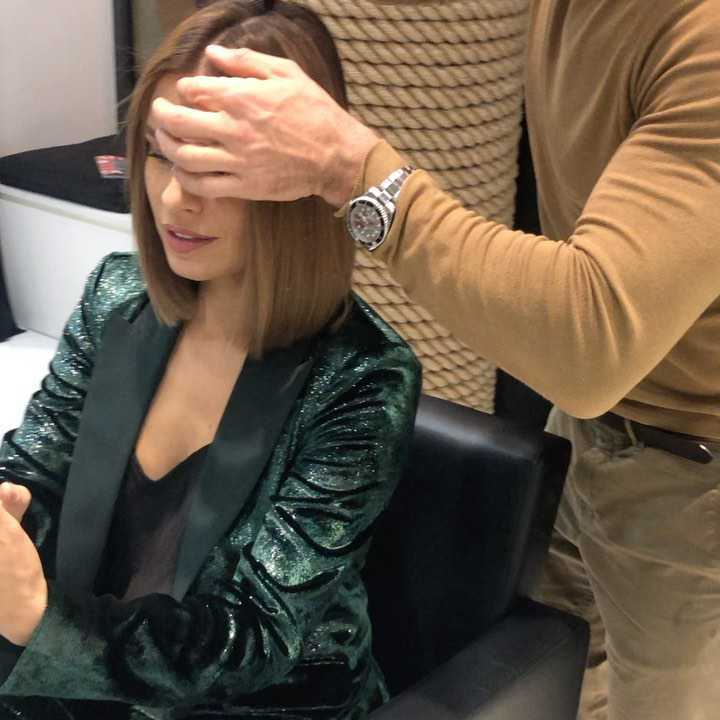 Natasza Urbańska - tworzenie nowej fryzury