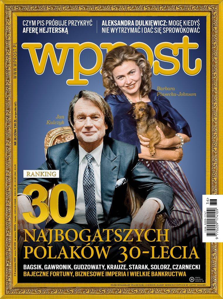 Wprost - ranking 30 najbogatszych Polaków