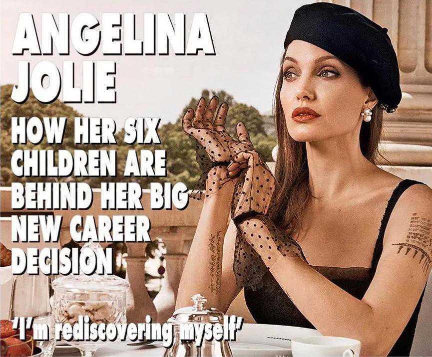 Angelina Jolie w Paryżu. Sesja dla Hello!