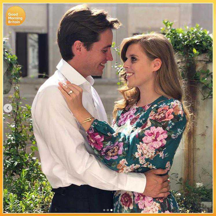 Księżniczka Beatrice ogłosiła zaręczyny i pochwaliła się pierścionkiem
