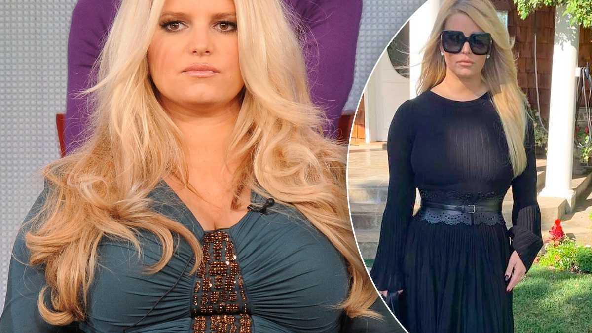 Jessica Simpson schudła 45 kilo