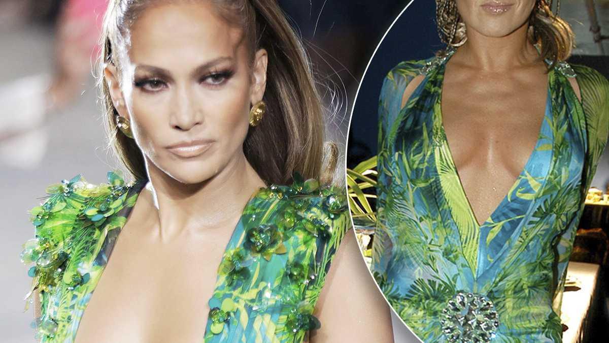 Jennifer Lopez i Katarzyna Skrzynecka Versace