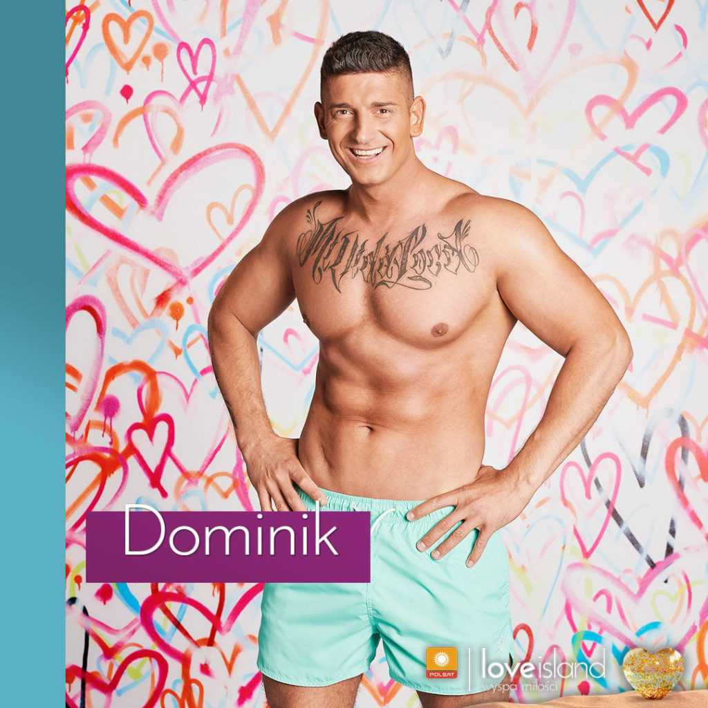 Dominik Sucharski z Love Island