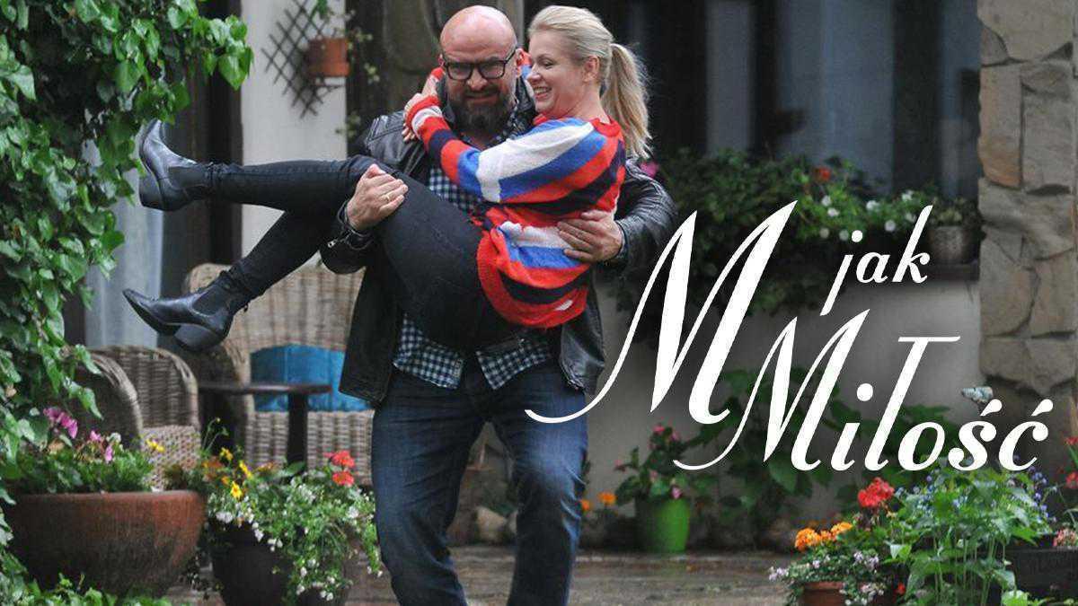 M jak miłość po wakacjach 2019, Andrzejek (Tomasz Oświeciński), Marzenka (Olga Szomańska)