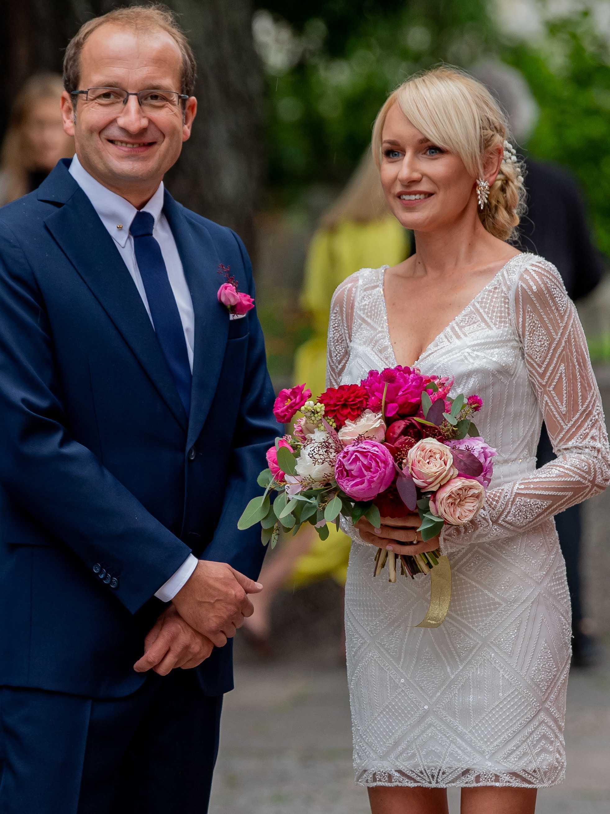 Ślub Roberta Górskiego i Moniki Sobień