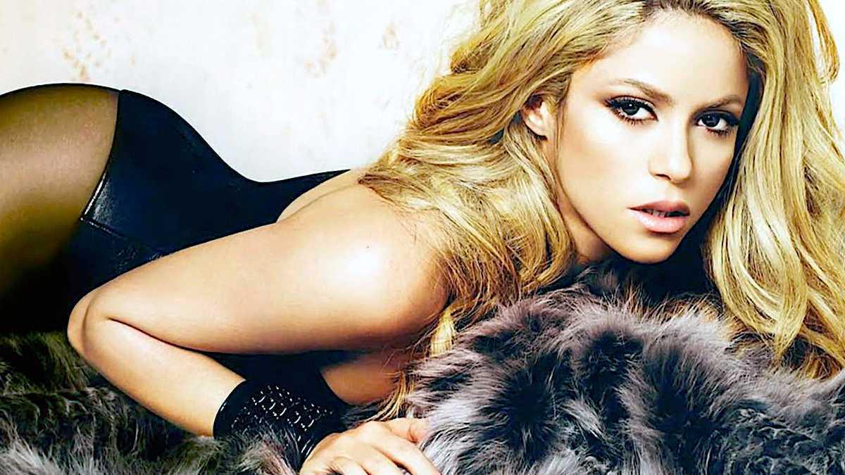Shakira kiedyś, stare zdjęcie