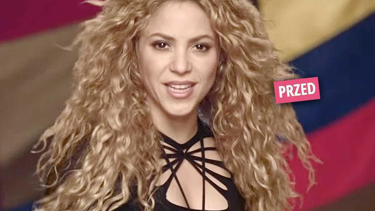 Shakira włosy fryzura