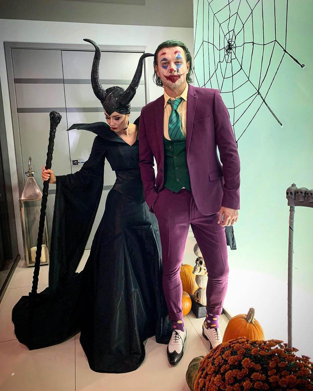 Małgorzata Rozenek i Radosław Majdan - Halloween 2019