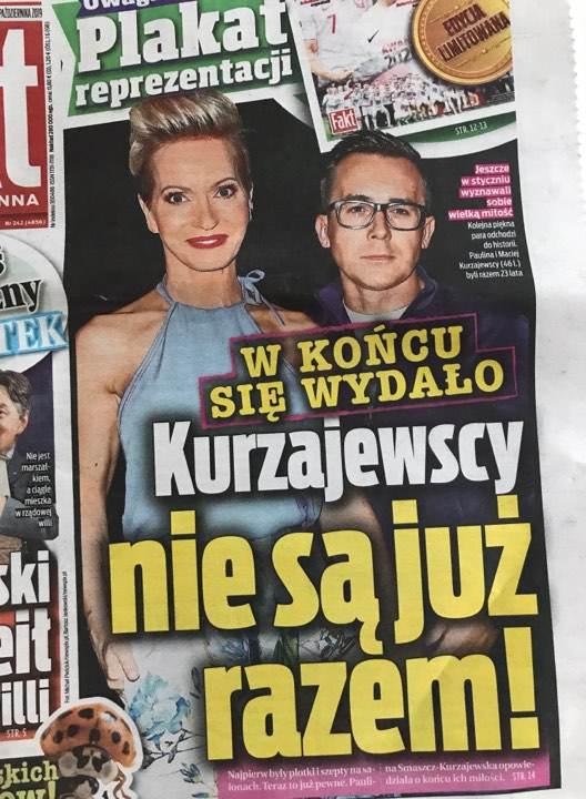 Paulina Smaszcz-Kurzajewska potwierdza plotki o rozwodzie, fot. FAKT