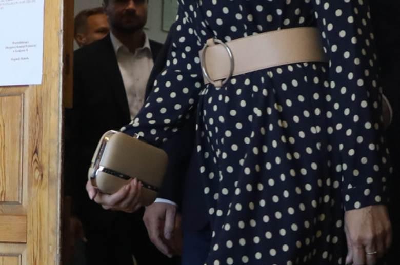 Agata Duda - pasek i torebka