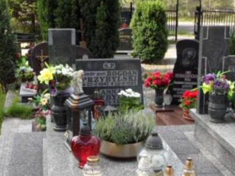 Anna Przybylska grób w Gdyni