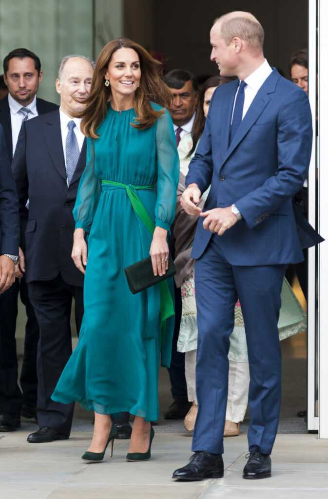 Księżna Kate i William w Aga Khan