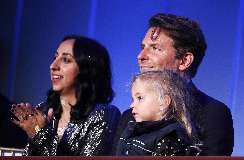 Bradley Cooper z Leą na wręczeniu nagrody im. Marka Twaina w Waszyngtonie