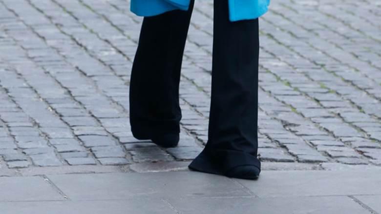 Edyta Górniak - buty i spodnie
