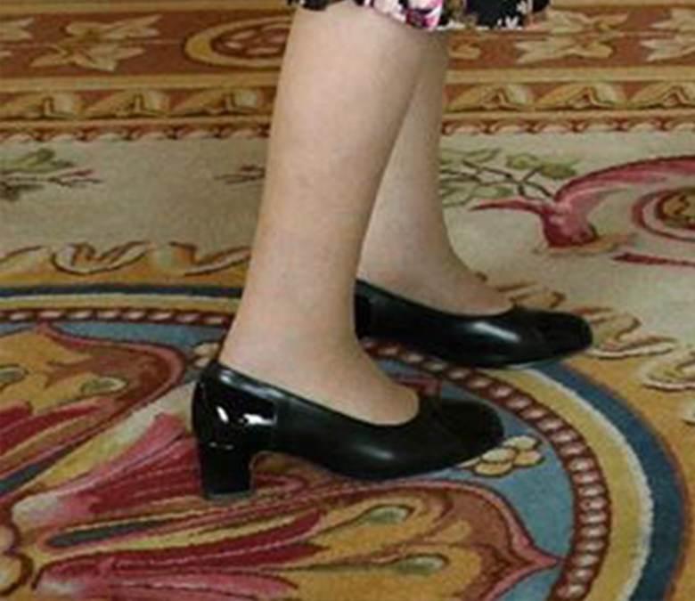 Elżbieta II - buty
