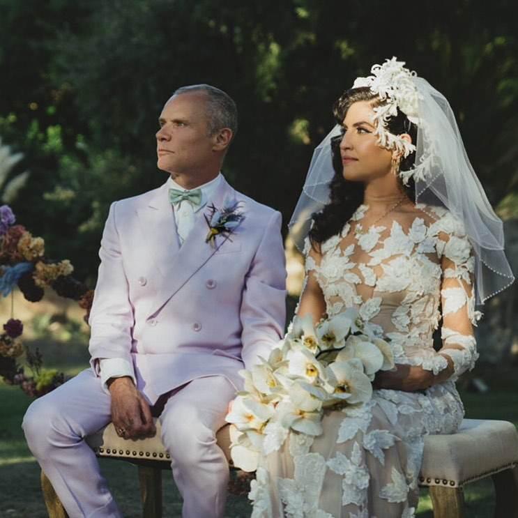 Flea i Melody Ehsani wzięli ślub