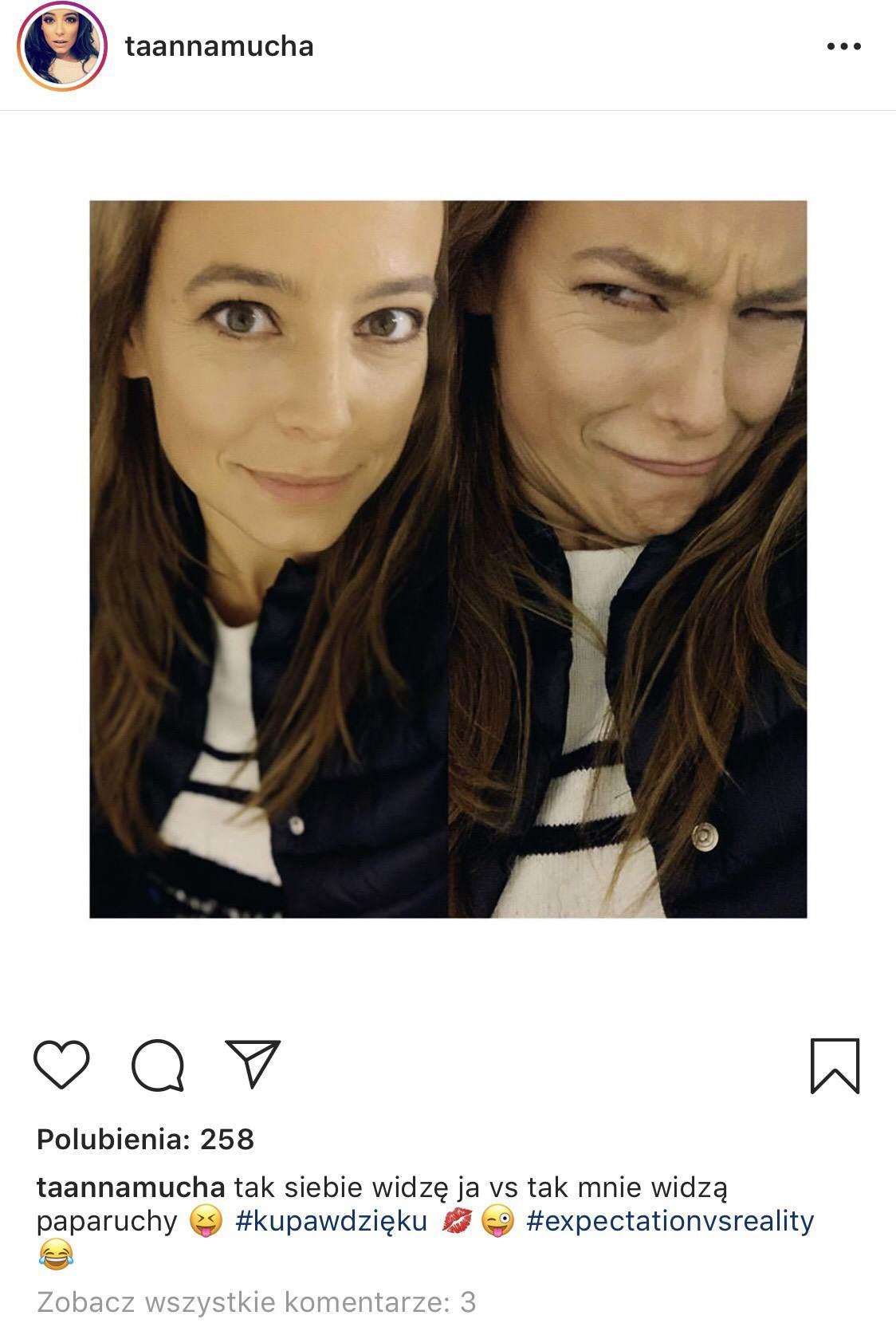 Anna Mucha - zdjęcie na Instagramie