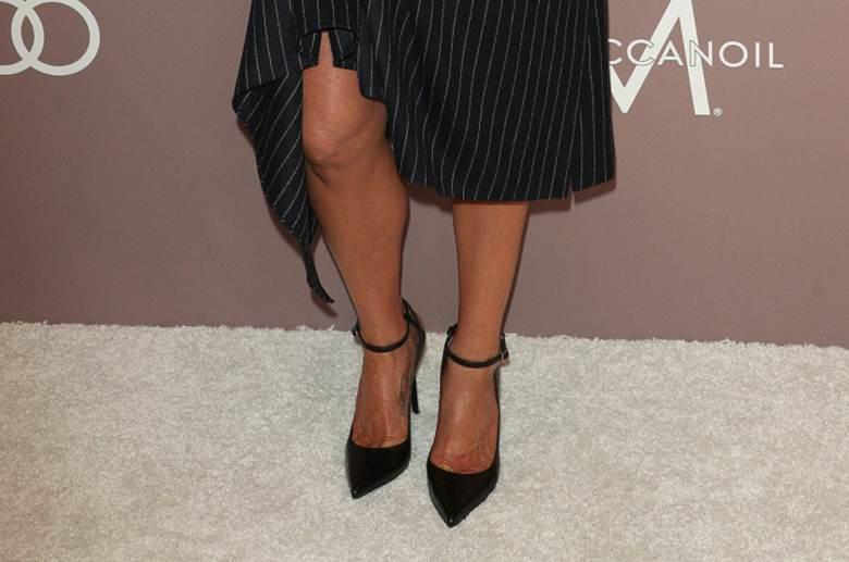 Jennifer Aniston - buty Mary Jane