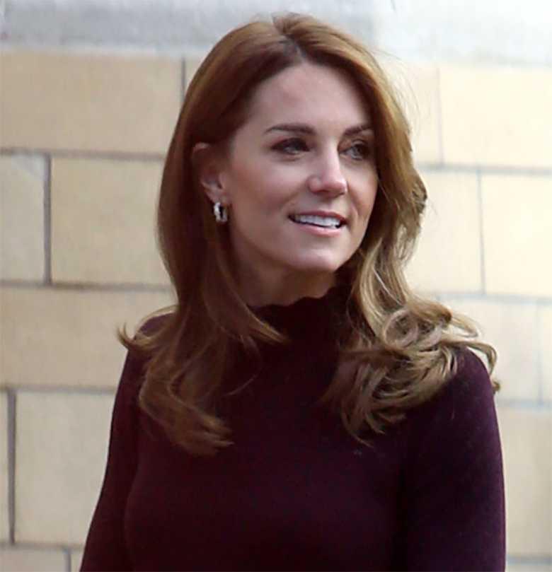 Księżna Kate w Londynie