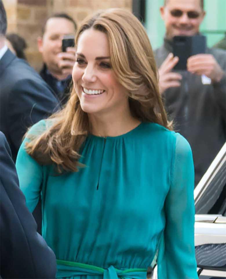 Księżna Kate na spotkaniu w Aga Khan