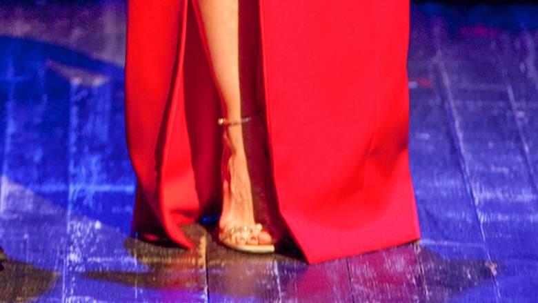 Małgorzata Kożuchowska buty