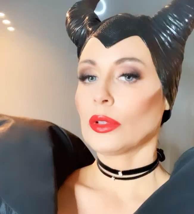 Małgorzata Rozenek przebrana za Czarownicę - Halloween 2019