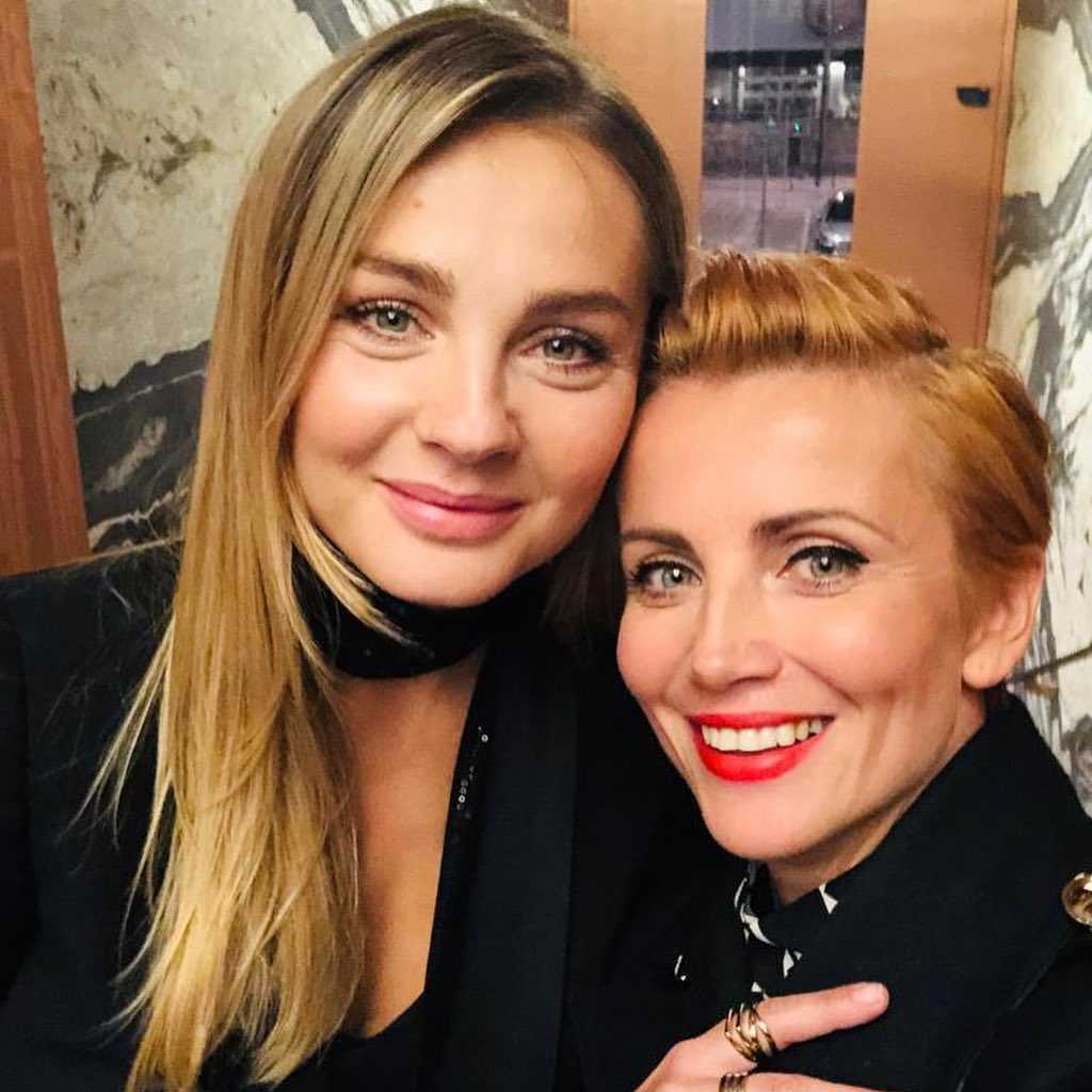 Małgorzata Socha i Kasia Zielińska