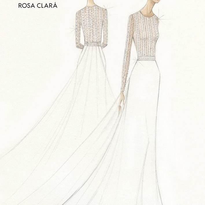 Projekt sukni Marii Perello