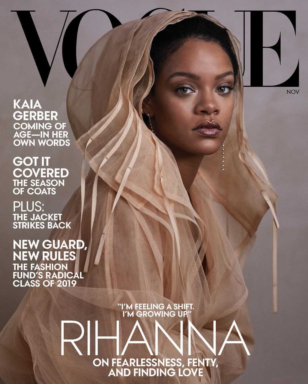 Rihanna gwiazdą listopadowego Vogue'a