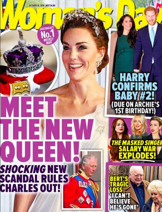 Księżna Kate zostanie nową brytyjską królową? Tak twierdzi Woman's Day