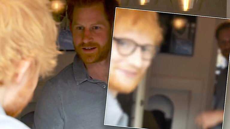 Ed Sheeran i książę Harry
