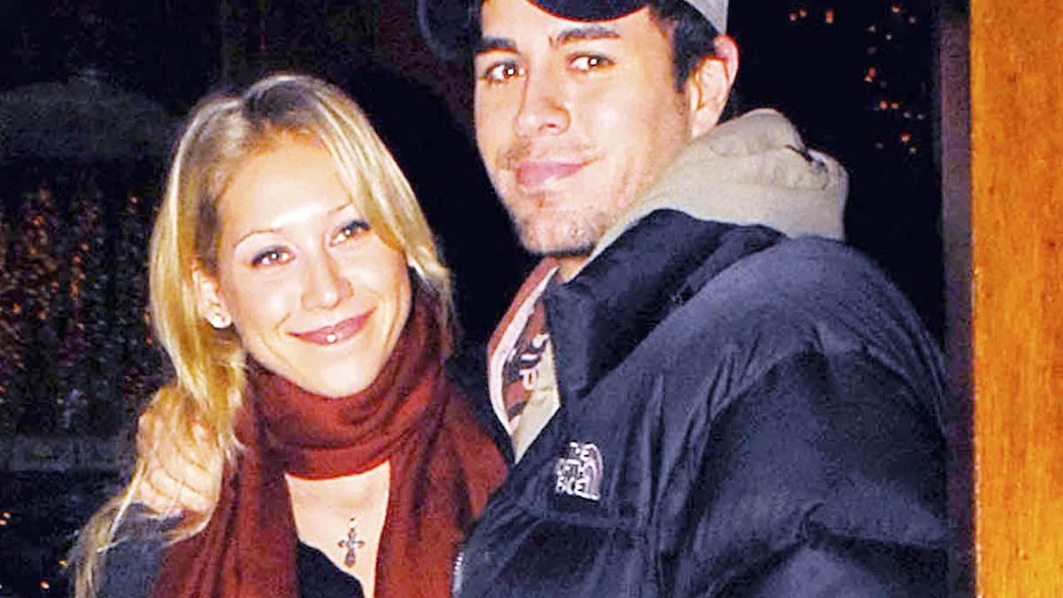 Enrique Iglesias i Anna Kurnikova po ślubie