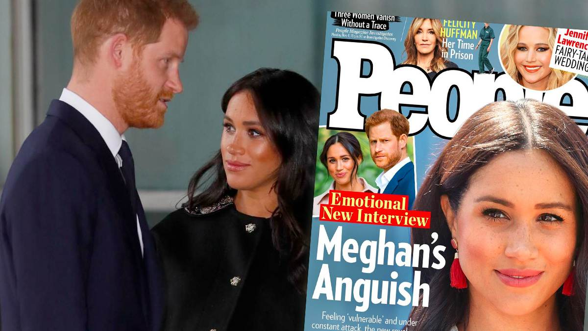 Meghan Markle, książę Harry, People