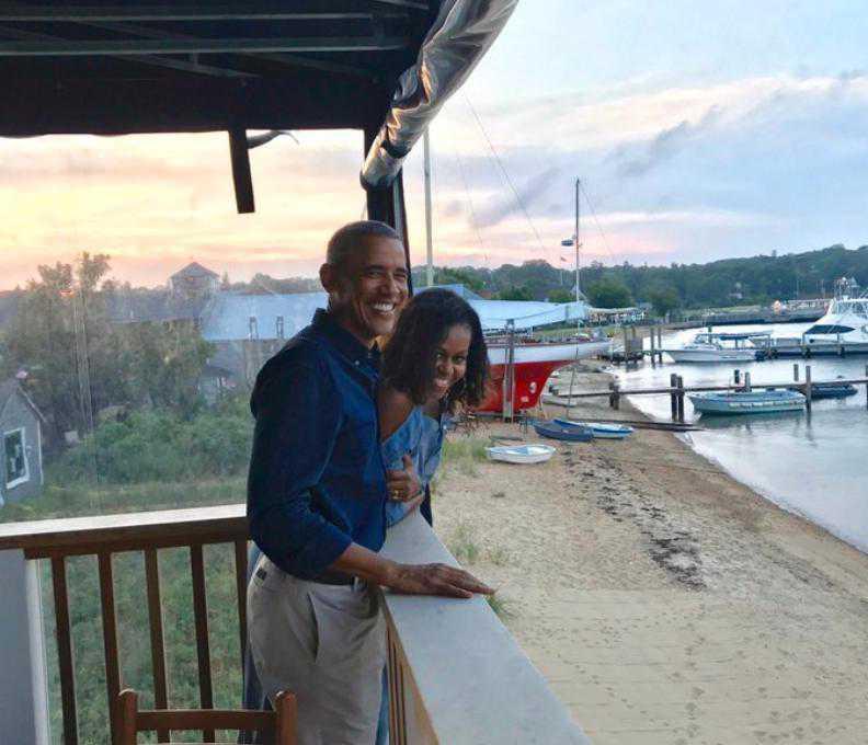 Barack Obama i Michelle Obama, 27. rocznica ślubu