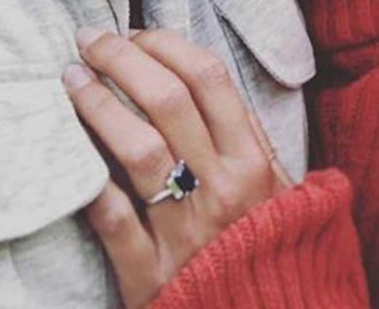 Pierścionek zaręczynowy Alizee Thevenet